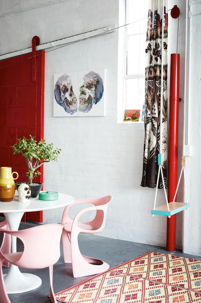 Kirra Jamison S Cheerful Artistic House In Melbourne